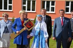 Открытие Средней школы №8 г.Кричева